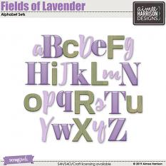 Fields of Lavender Alpha Sets