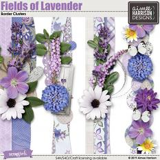 Fields of Lavender Borders