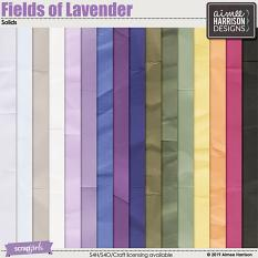 Fields of Lavender Solids