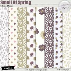 Smell Of Spring Patterned Papers
