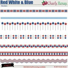 Red White & Blue Collection By Charly Renay