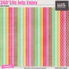 360°Life July: Enjoy Extra Papers