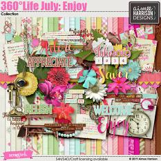 360°Life July: Enjoy Collection