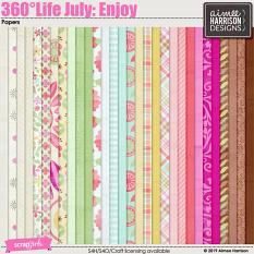 360°Life July: Enjoy Papers