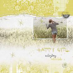 Layout by Geraldine Touitou using Twinkle Stars scatter brushes