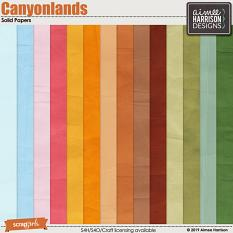 Canyonlands Solid Papers