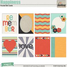 Happiness Pocket Life Cards by Cheré Kaye Designs