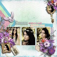 Layout using Summer Meadow