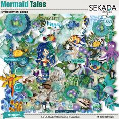 Mermaid Tales Embellishment Biggie