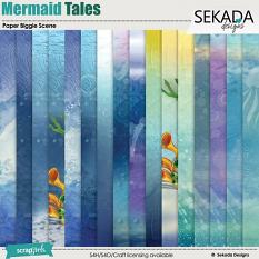 Mermaid Tales Paper Biggie Scene