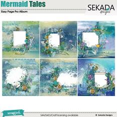 Mermaid Tales Easy Page Pro Album Mini