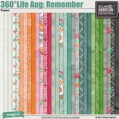 360°Life Aug: Remember Papers