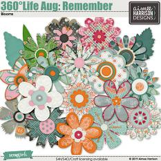 360°Life Aug: Remember Blooms
