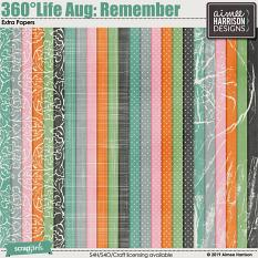 360°Life Aug: Remember Extra Papers