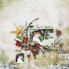 layout using Value Pack : End Of SUMMER by Florju Designs