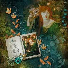 Layout using Greensleeves