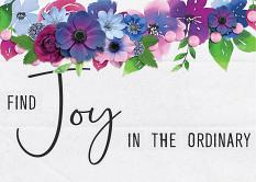 """Find Joy"" Greeting Card by Andrea Hutton"