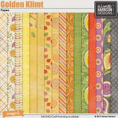 Golden Klimt Papers