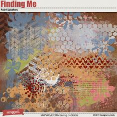 Finding Me Paint Splashes by Designs by Helly