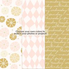 Just Funky Paper Template Overlays sample papers
