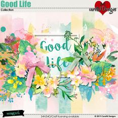 ScrapSimple Digital Layout Collection:Good Life