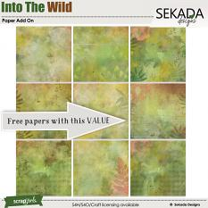 Into The Wild  Papers Add On FREE