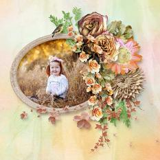 layout using Dried Collection by BeeCreation