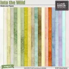 Into the Wild Watercolor Papers