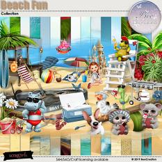 Beach Fun Collection by BeeCreation