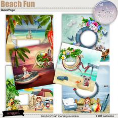 Beach Fun Quick Page by BeeCreation