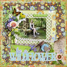Field of Wildflowers Layout