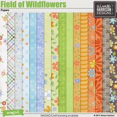 Field of Wildflowers Papers