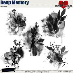ScrapSimple Digital Layout Collection:Deep Memory