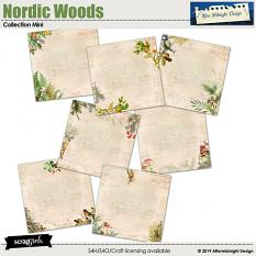 Nordic Woods Collection Mini by Aftermidnight Design