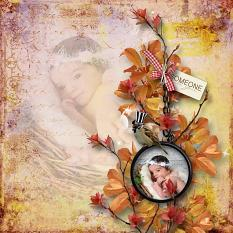 layout using Autumn Day Collection Biggie by Florju Designs