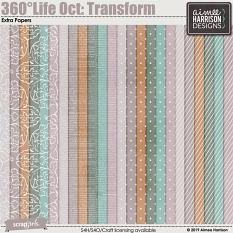 360°Life Oct: Transform Extra Papers
