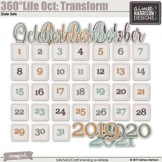 360°Life Oct: Transform Date Tabs - FREE!