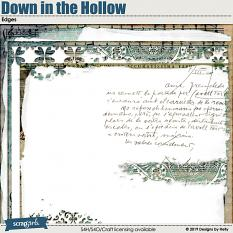 Down in the Hollow Page Edges by Designs by Helly