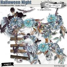 layout using Value Pack : Halloween Night by florju designs
