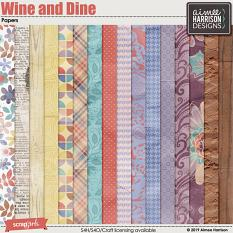 Wine and Dine Papers