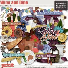 Wine and Dine Elements