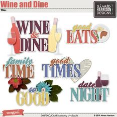 Wine and Dine Titles