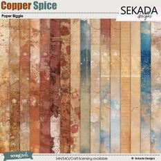Copper Spice Paper Biggie