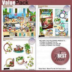 Beach Funs Value Pack by BeeCreation
