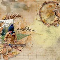 layout using Celebrate Autumn Embellishment Mini : Clusters pack 2 by Florju Designs