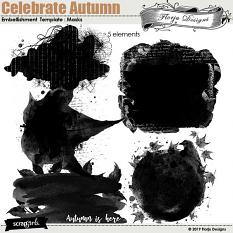 Celebrate Autumn Clipping Masks by florju designs
