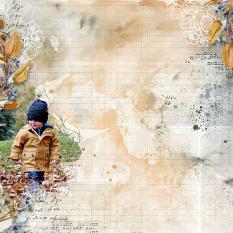 layout using Celebrate Autumn Clipping Masks by florju designs