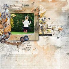 layout using Celebrate Autumn Easy Page Pro : Quick Pages by Florju Designs