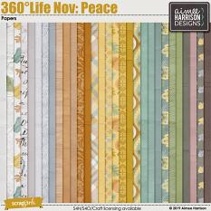 360°Life Nov: Peace Papers