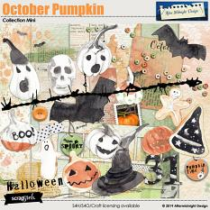 October Pumpkin collection Mini by Aftermidnight Design